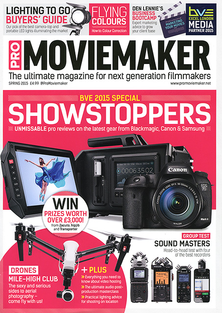 AmnesiArt is Featured on Pro Moviemaker Magazine!